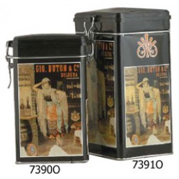 European Gift 7391O Large Decorated Coffee Canister
