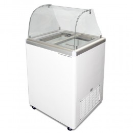 Excellence EDC-4CHC Ice Cream Freezer Dipping Cabinet 4 Tub Capacity