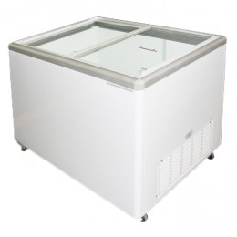 Excellence Euro-13HC Flat Lid Merchandising Freezer 12.5 cu ft