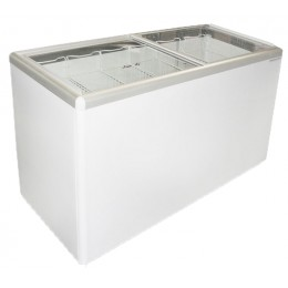 Excellence Euro-16HC Flat Lid Merchandising Freezer 15.5 cu ft