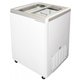 Excellence Euro-5 Flat Lid Merchandising Freezer 5 cu ft