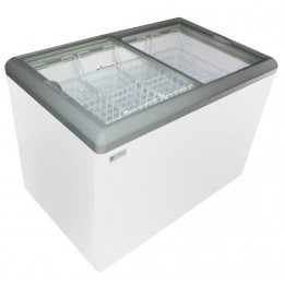 Excellence HB-11LD Dual Temp Display Cabinet Freezer 11 cu ft