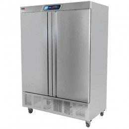 Fagor QVR-2 2 Section Solid Full Door Reach-in Refrigerator
