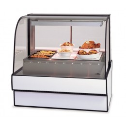 Federal CG5948HD Curved Glass Hot Deli Case 59