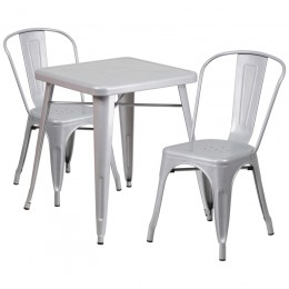 Flash Furniture CH-31330-2-30-SIL-GG 23.75