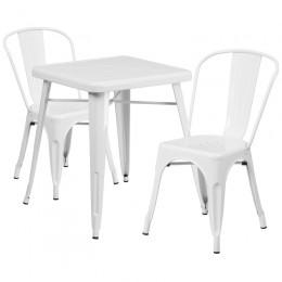 Flash Furniture CH-31330-2-30-WH-GG 23.75