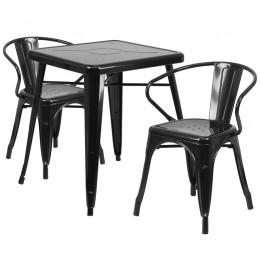 Flash Furniture CH-31330-2-70-BK-GG 23.75