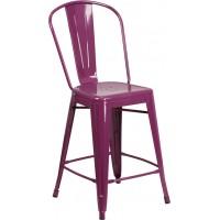 Flash Furniture ET-3534-24-PUR-GG 24
