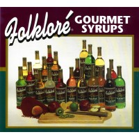 Folklore Gourmet Syrups - Amaretto