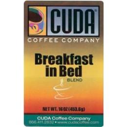 Cuda Coffee Breakfast in Bed Blend 1lb
