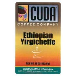 Cuda Coffee Ethiopian Yirgicheffe 1lb