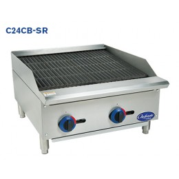 Globe C24CB-SR Chefmate Countertop Radiant Charbroiler 24