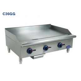 Globe C24GG Chefmate Countertop Manual Control Griddle 24