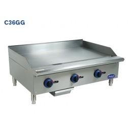 Globe C36GG Chefmate Countertop Manual Control Griddle 36