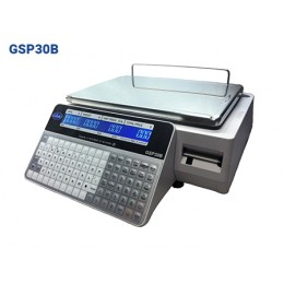 Globe GSP30B Label Printing Scale Legal for Trade with LCD Display
