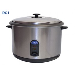 Globe RC1 Chefmate Rice Cooker Warmer 25 Cup Capacity 120v 60h 5-15P 1600w