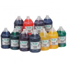 Gold Medal Sno-Treat RTU Gallons 4/CS Additional Flavors