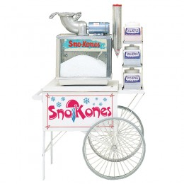 Gold Medal 2015SK Sno-Kone Cart White