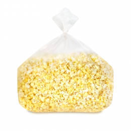 Gold Medal 3731 Movie Theater Butter Popcorn Bulk Bag in Box 3.25 lbs