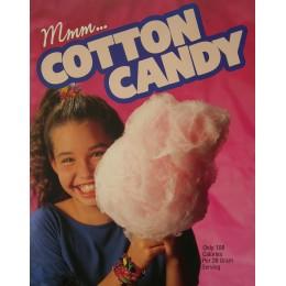 Gold Medal 3996 Cotton Candy Poster Large