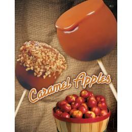 Gold Medal 4018 Caramel Apple Poster Laminated