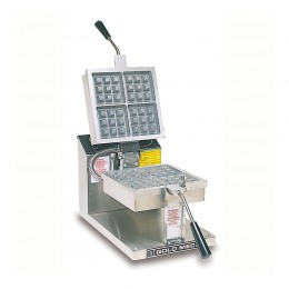 Gold Medal 5042-00-002 Belgian Waffle Baker Electronic Control, Non -Stick Coated, Removable Grid