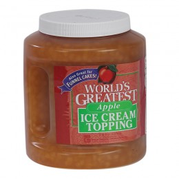 Gold Medal 5137CN Worlds Greatest 66oz Topping Apple