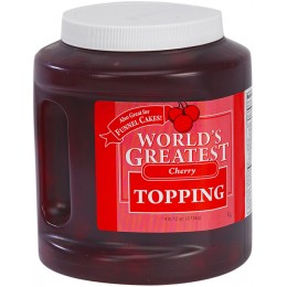 Gold Medal 5138CN Worlds Greatest 66oz Topping Cherry