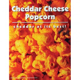 Gold Medal Cheddar Cheese Popcorn Poster
