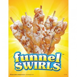 Gold Medal 5229 Funnel Swirls Poster
