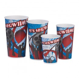 Gold Medal 22oz Showtime Printed Cups 1000/CS