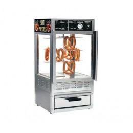Gold Medal 5552PR Pretzel Oven Humidified Merchandiser Combo