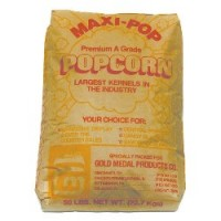 Gold Medal 2745 Maxi Pop Corn 50lb/Bag