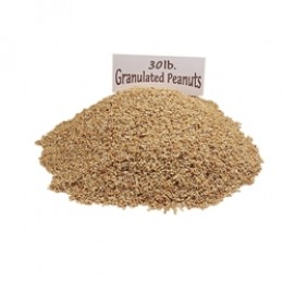 Gold Medal 4128 Granulated Peanuts 30lb Box