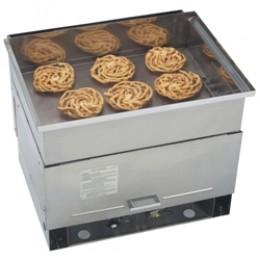 Gold Medal 5099NS Gas Six Cake Funnel Cake Fryer Large