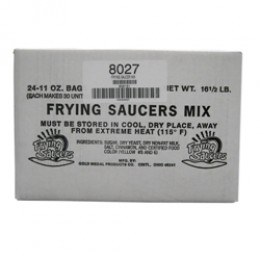 Gold Medal 8027 Frying Saucer Mix 24-11oz Bags