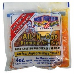 Great Northern 4oz. Portion Popcorn Packs 24/CS