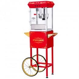 Great Northern 6000 Roosevelt 8oz Popcorn Machine/Cart Red