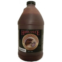 Hawk Sauce Original BBQ Elixir 64oz Bottle