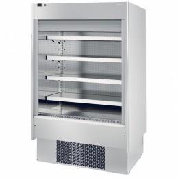 Infrico EML12 INOX PM2 Air Curtain Refrigerator, 31.5 cu ft, 4 Shelves