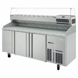 Infrico IRT-MPG1980 Granite Top Pizza Prep Table-16 cu.ft.
