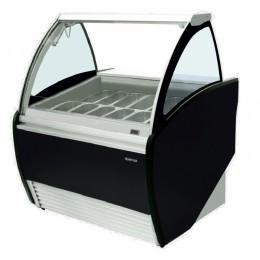 Infrico VAR1000H GELATO Curved Glass Display Case-2.47 cu.ft