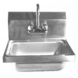 GSW Handsink 12.5L x 9.75W x 6 Deep Bowl w/ 5