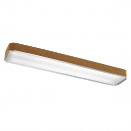 Kichler 10425BAW Pira Collection Linear Ceiling 48in Fluorescent
