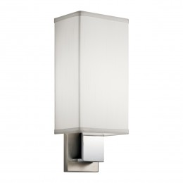 Kichler 10438NCH Santiago Collection Wall Sconce 1Lt Fluorescent