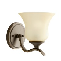 Kichler 10636OZ Wedgeport Collection Wall Sconce 1Lt Fluorescent