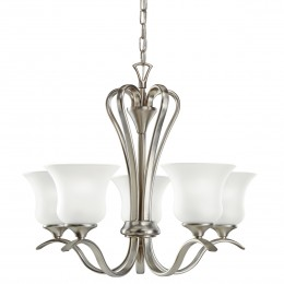 Kichler 10740NI Wedgeport Collection Chandelier 5Lt Fluorescent