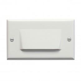 Kichler 12602WH LED Horizontal Shielded Step Light White 120V