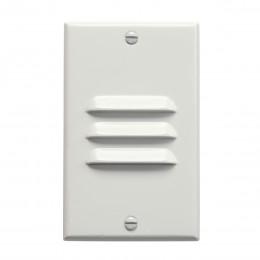 Kichler 12606WH LED Vertical Louver Step Light White 120V