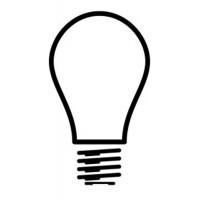 Kichler 15572FRO Accessory Bulb A19/25W/12V 10/PK